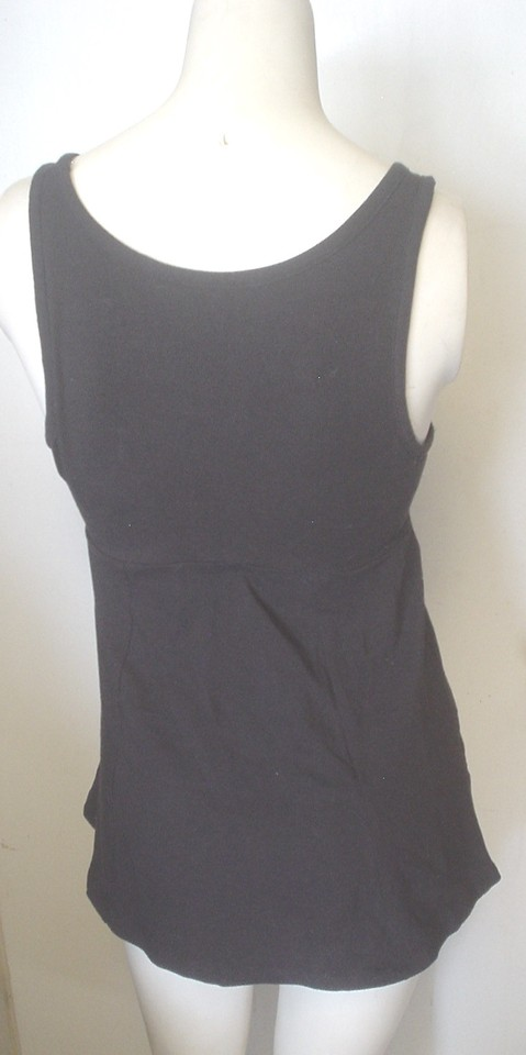 404b30a858d2d Victoria s Secret Black Fashions Best Kept Gored Empire Waist S Tank Top  Cami Size 4 (S) - Tradesy