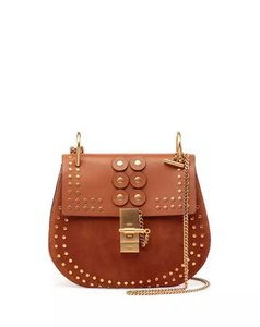 Chloé Drew Crossbody Chain Embellished Shoulder Bag