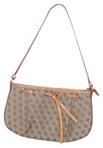 Dooney & Bourke Signature Fabric Zipper Hobo Bag