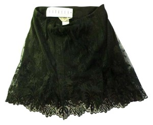 Sagaie Mini Skirt black