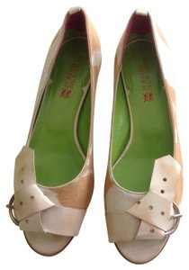 Guillaume Hinfray White and brown Mules