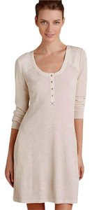 Anthropologie short dress Ivory Comfy on Tradesy