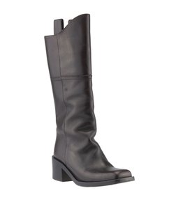 Chanel Leather Knee-high G30170 Brown Boots