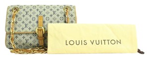 Louis Vuitton Chain Crossbody Clutch Flap Shoulder Bag