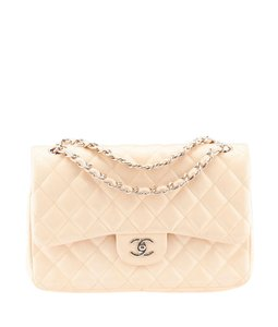Chanel Patent Leather Cc Shoulder Bag