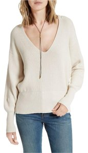 Free People Ivory Allure Pullover Sweater
