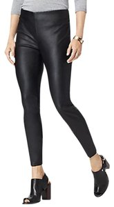 Tommy Hilfiger Black Faux leather Leggings