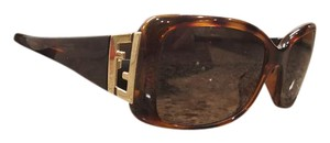 Fendi Brown Logo Fendi Sunglasses