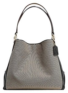 Coach Phoebe Hobo Jacquard 57248 Shoulder Bag