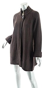 kinross Cashmere One Button Cardigan