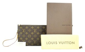 Louis Vuitton Pouch Clutch Poche Neverfull Wristlet