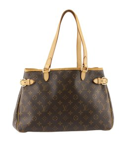 Louis Vuitton Monogram Canvas Tote in Brown