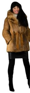 Saga Furs Fur Coat Fur Coat Fur Large Fox Leather Jacket