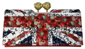 Ted Baker Ted Baker Vikkii Union Jack Printed Matinee Leather Wallet