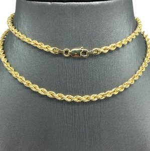 Other 14K Yellow Gold Rope Chain ~3.00 mm 20