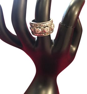 Other Judith Jack sterling cz and marcasite stacking rings