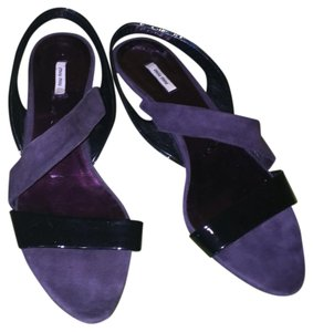 Miu Miu Purple Sandals