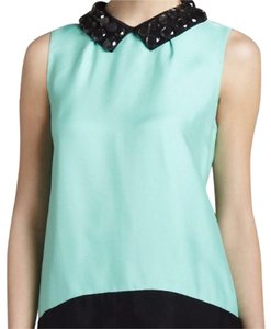 Kate Spade Top mint and black