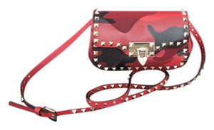 Valentino Rockstud Camo Cross Body Bag