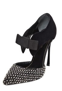 Sergio Rossi Crystal Black Pumps