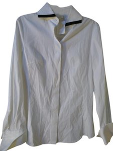 Gianfranco Ferre Button Down Shirt White