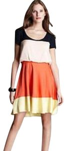 Julie Dillon short dress yellow orange on Tradesy