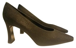 Bandolino Fabric Shimmer Black Pumps
