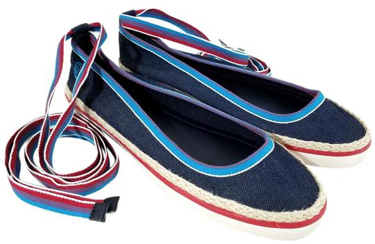Tory Burch Multi-color Flats Image 0