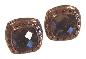 Tacori doubled faceted earrings