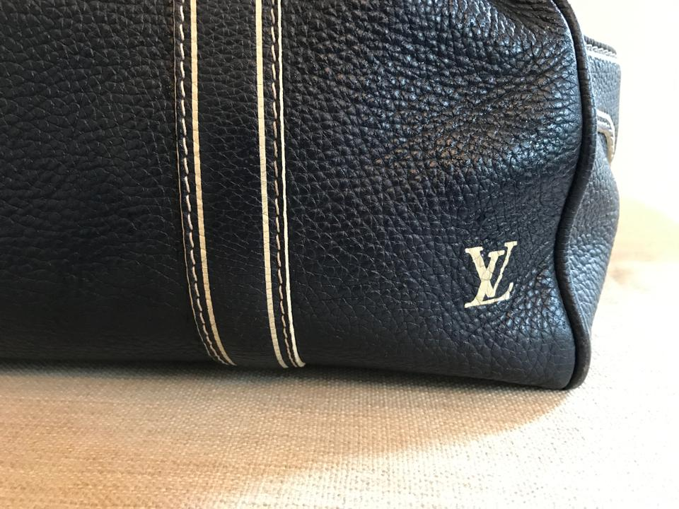1a8db5535fe1 Louis Vuitton Keepall Luggage Pegase Speedy Blue Navy Travel Bag Image 10.  1234567891011