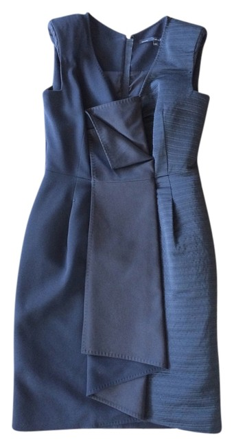Item - Black Night Out Date Night Italian Knee Length Cocktail Dress Size 8 (M)