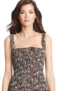 Diane von Furstenberg Top black/bronze