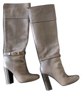 Tory Burch nude/tan/grey Boots