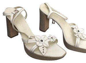 Prada white, beige Sandals
