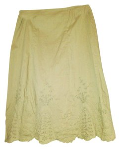 Gap Eyelit Skirt khaki