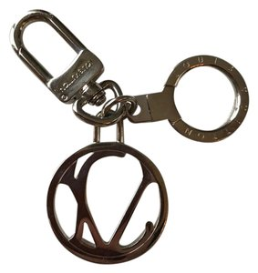 Louis Vuitton Louis Vuitton Abstract LV Keyholder in Palladium