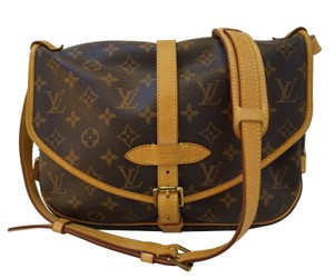 Louis Vuitton Lv Saumur 30 Monogram Canvas Shoulder Bag