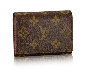 Louis Vuitton Vintage Monogram Canvas Bifold ID/ Credit Card Case