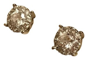 Independent Clothing Co. 1.7 carat and 14k white gold earrings!