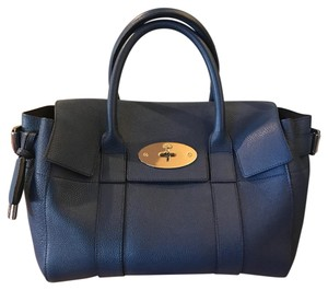Mulberry Satchel in Dark Blue