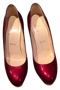 Christian Louboutin Candy Apple Red Pumps