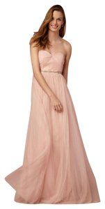 Jenny Yoo Blush Tulle Annabelle Convertible Dry Cleaned Bridesmaid/Mob Dress Size 16 (XL, Plus 0x)