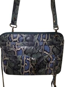 Rebecca Minkoff Rebecca Laptop Case Blue Marc Jacobs Michael Kors Satchel in Silver Snake