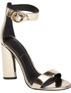 Kendall + Kylie Giselle Strappy Light Gold Sandals
