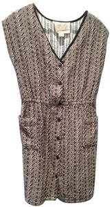 ace&jig short dress Gray with black & white pattern on Tradesy