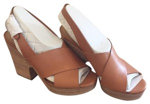 Lucky Brand Natural/Tan Wedges