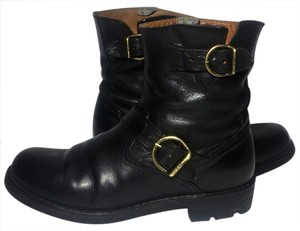 Fiorentini + Baker + Women Size 7 Motorcycle 7 Engineer 7 Black Boots
