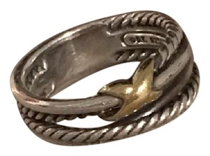 David Yurman X crossover ring