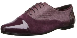 Kenneth Cole Leather Plum Flats