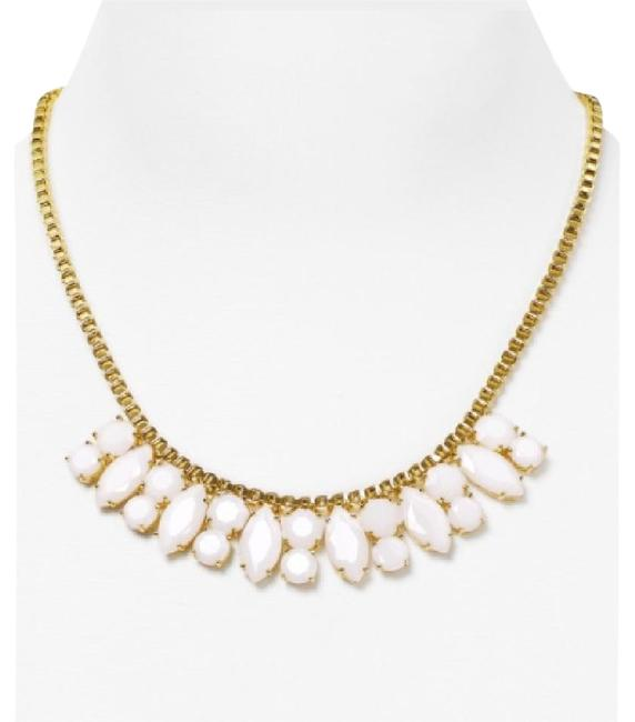 Kate Spade Goldtone/White Marquee Metallic Chain Necklace Kate Spade Goldtone/White Marquee Metallic Chain Necklace Image 1